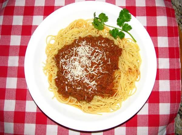 Mediterranean Spaghetti Sauce
