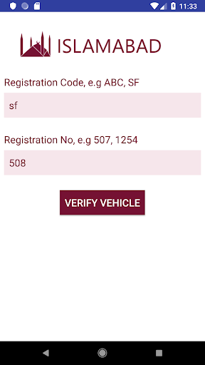 Vehicle Verification Apk 2