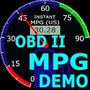 OBDII Car MPG Demo (Gasoline)