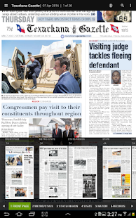 Texarkana Gazette- screenshot thumbnail