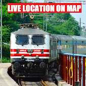 Live Location on Map - Indian Railway