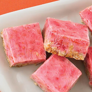 Frozen Berry-Granola Squares