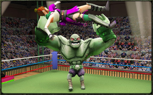Incredible Monster Superheroes Ring Battle  screenshots 7