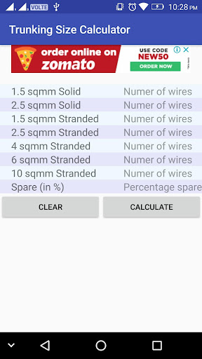 Trunking size calculator apk download apkpure trunking size calculator screenshot 1 greentooth Gallery