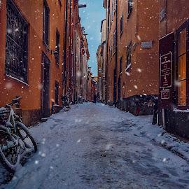 by Kennet Brandt - City,  Street & Park  Street Scenes