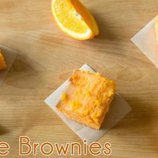 Orange Brownies.