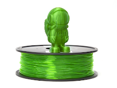 Translucent Green MH Build Series TPU Flexible Filament - 1.75mm (1kg)