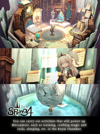 Witch Spring 4 APK - The story of little queen