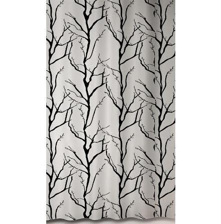 Duschdraperi Tree Vit Debel