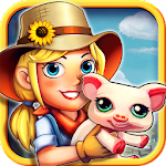 Happy Farm : Pets Party Icon