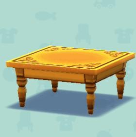 カントリーなテーブル
