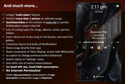 Musicolet Music Player [Free, No ads] screenshot 9