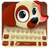 Aurum Cute Puppy Dog Keyboard