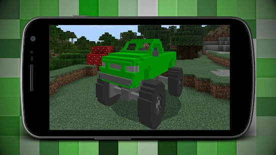 Addon of Jeeps for Minecraft MCPE - náhled