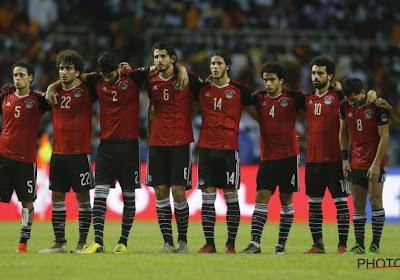Un joueur égyptien viré de la sélection suite à une main aux fesses d'un coéquipier ! (Vidéo)