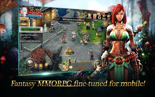 Arcane Online (MMORPG) Screenshot