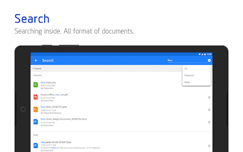 Polaris Office - Word, Docs, Sheets + PDF Reader- screenshot thumbnail