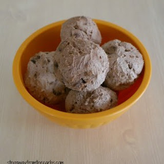 Low Carb Frozen Chocolate Chip Balls.