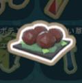 肉だんごのブラウンソースにこみ