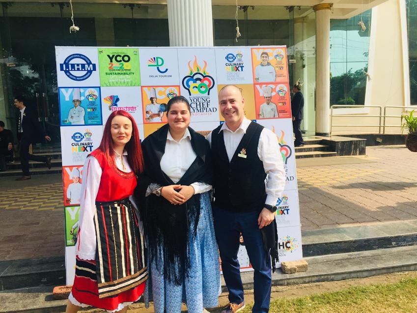 Aluna da Escola de Hotelaria do Douro-Lamego representa Portugal no Young Chef Olympiad