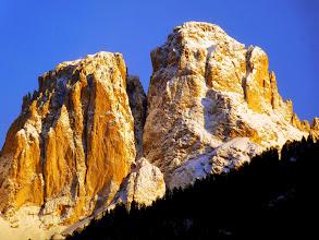 Photo: Dolomiti di Campitello di Fassa: Punta Innerkoflert e il Dente