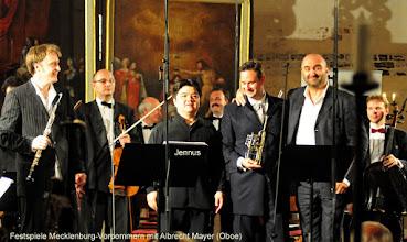Photo: Festspiele Mecklenburg-Vorpommern mit Albrecht Mayer (Oboe)