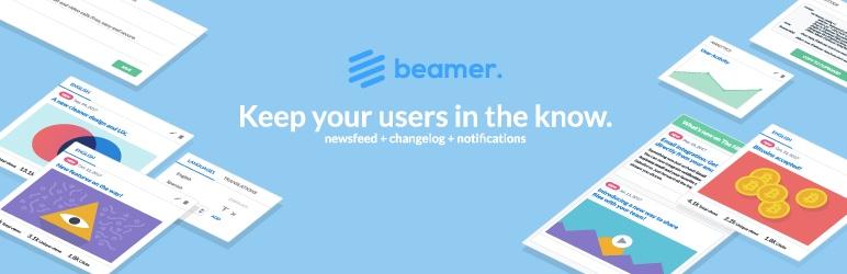 Plugin thông báo Beamer