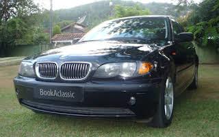 BMW 320i Rent Rio de Janeiro