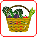 Simple shopping list + scaner icon