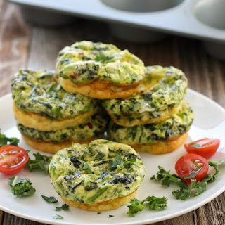 Kale and Feta Egg Muffins
