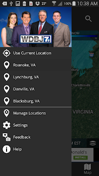 WDBJ7 Weather and Traffic