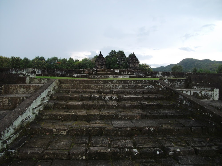The view from first terrace of Barong Temple