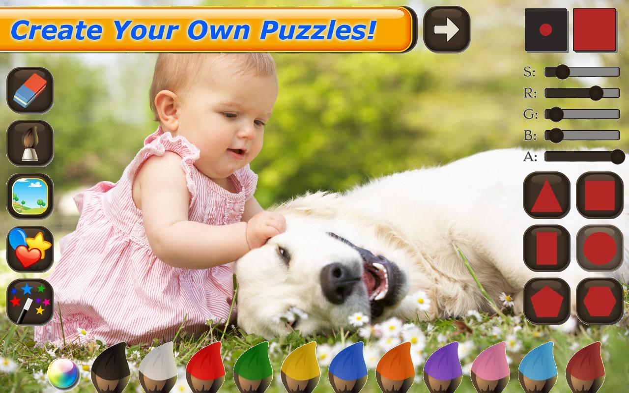 Horses Jigsaw Puzzles for Kids- screenshot