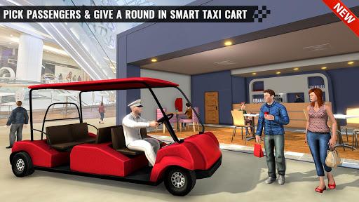 Shopping Mall Smart Taxi: Family Car Taxi Games 1.1 screenshots 1
