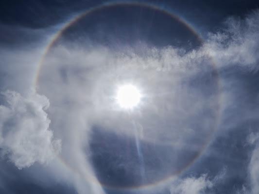 Arcobaleno intorno al sole di VIC61