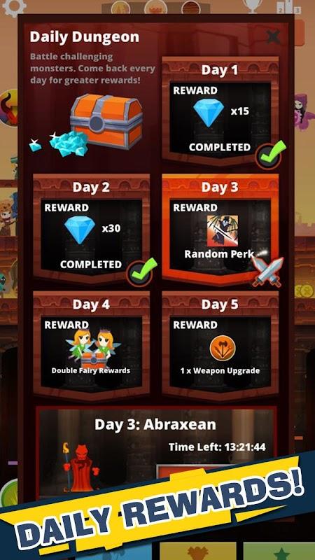 Tap Titans screenshots
