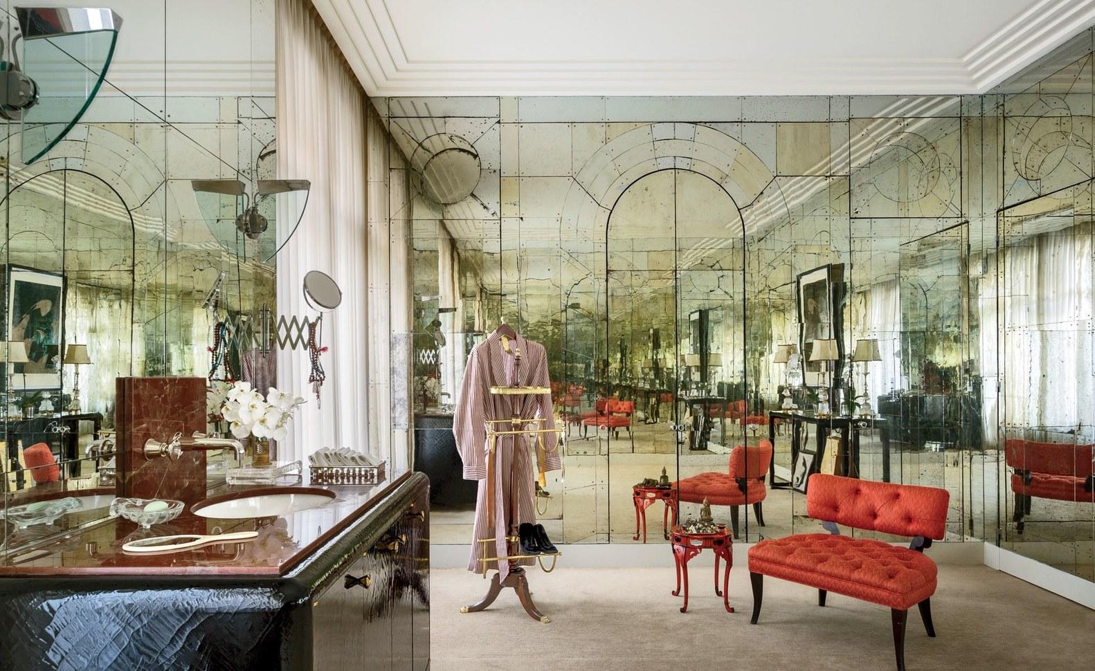 Art Deco Style Mirror - source: theartofbespoke.com