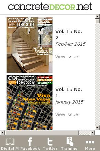 Concrete Decor Magazine