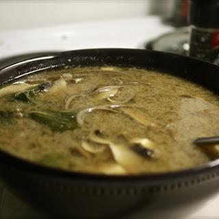 Easy Mushroom Miso Soup