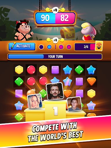 Match Masters - PVP Match 3 Puzzle Game 2.808 screenshots 6