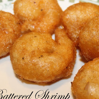 Beer-Battered Fried Shrimp