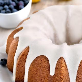 Lemon Pound Cake (gluten-free option)