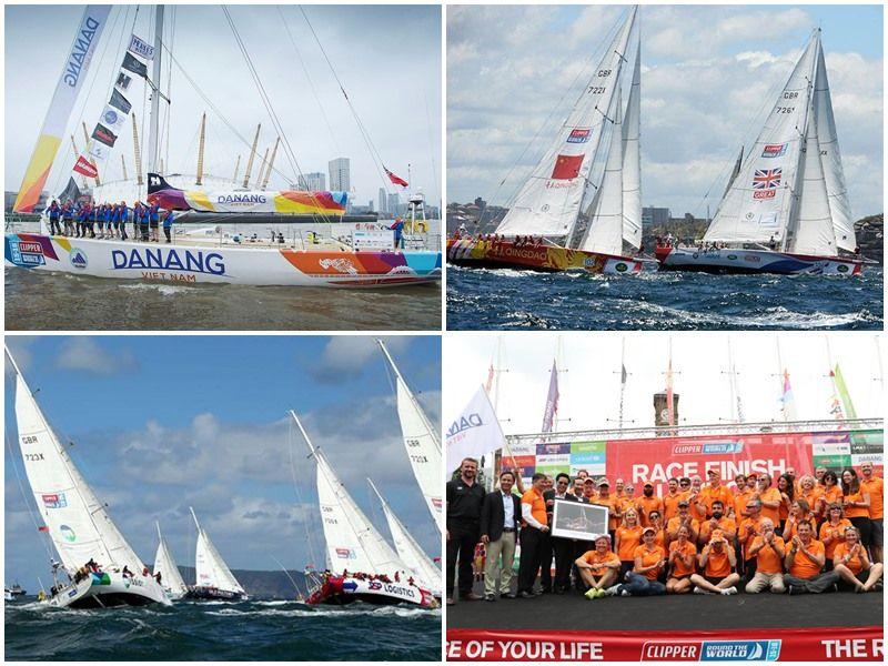 Ảnh: Cuộc đua thuyền buồm vòng quanh thế giới Clipper Race 2015 – 2016
