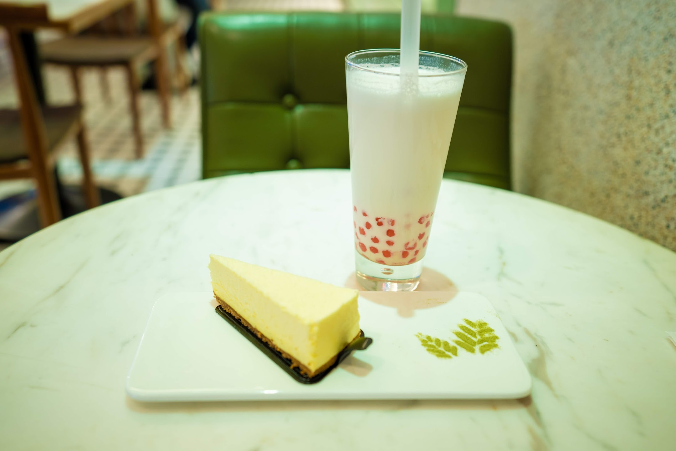 上海 恋暖の初茶(Modern Tea Art)2