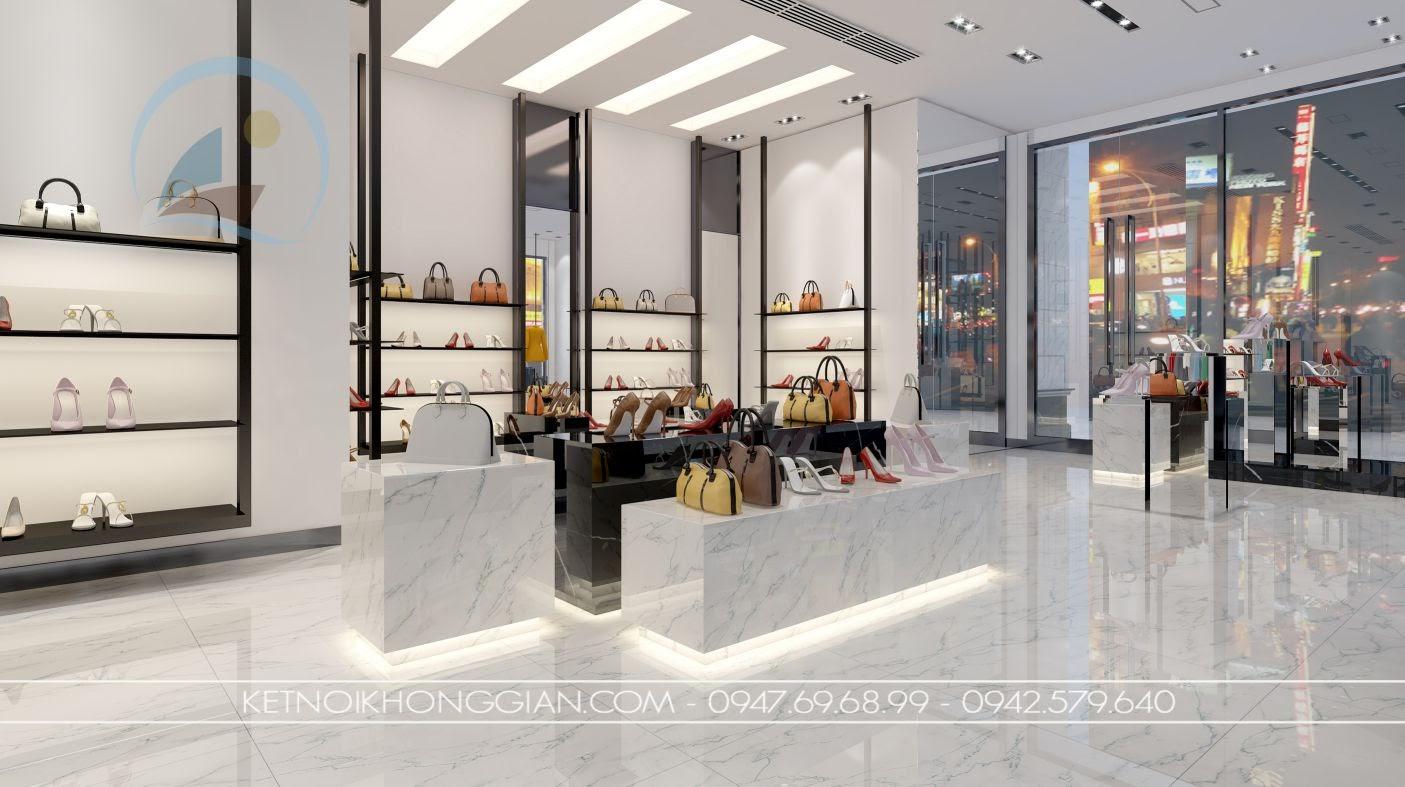 thiết kế cửa hàng giày dép 3