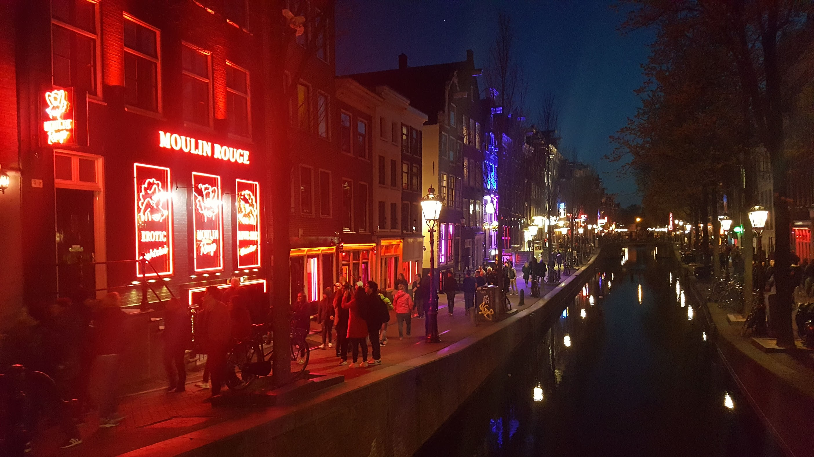 The Red Light District Amsterdam