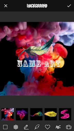 3D Smoke Effect Name Art Maker 3.0 screenshots 1