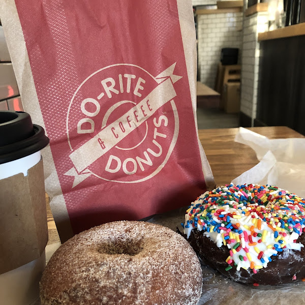 Gluten-Free Donuts at Do-Rite Donuts & Chicken
