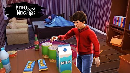 Hello Crazy Neighbor Game:Secret. Family Escape 3D 4