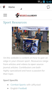 Sportmednews - Sports Medicine- screenshot thumbnail